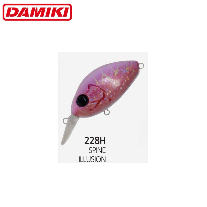 Damiki DC-100 5.5CM/13Gr (Floating) - 228H (Spine Illusion)
