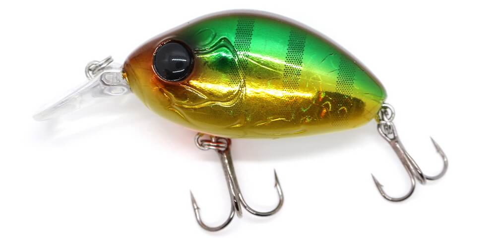 Damiki DC-100 5.5CM/13Gr (Floating) - 376H (Gold Perch)