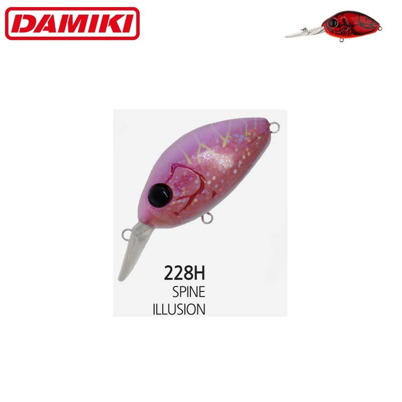 Damiki DC-200 5.5CM/14Gr (Floating) - 228H (Spine Illusion)