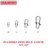 Damiki Double Lock Snap #4 - 10buc/plic