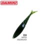 Damiki Gizzard 14CM (5.5'') - 304 (Watermelon Black)