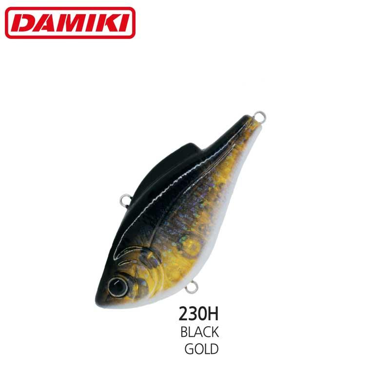 Damiki NAPJARU-60S 6CM/10.5Gr (Sinking) - 230H (Black Gold)