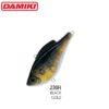 Damiki NAPJARU-60S 6CM/28Gr (Sinking) - 230H (Black Gold)