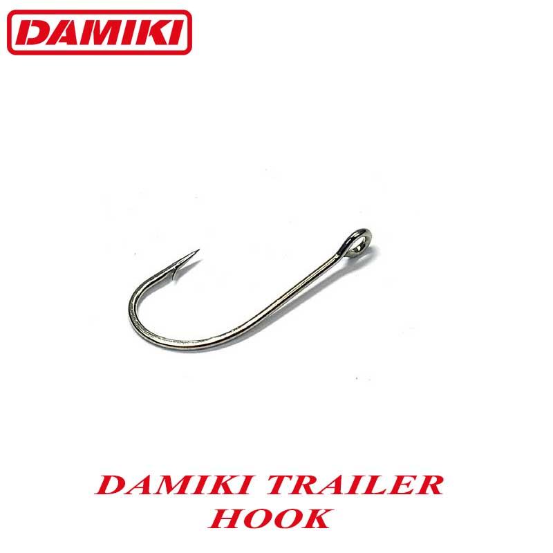 Damiki Trailer Hook #2/0 (4buc/plic)
