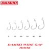 Damiki Wide Gap Hook #1/0 (9buc/plic)