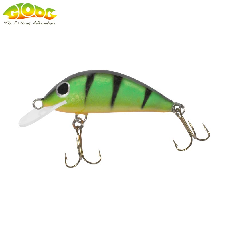 Gloog Hektor 40N - 4cm/3.5gr (Floating) - PGF (Perch Green Fluo)