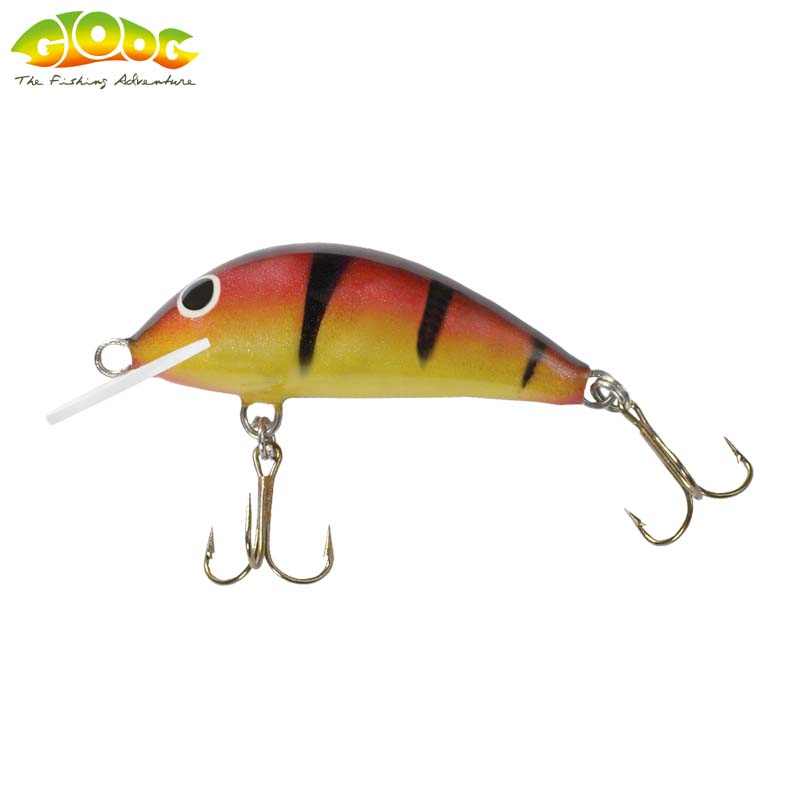 Gloog Hektor 40N - 4cm/3.5gr (Floating) - PY (Perch Yellow)