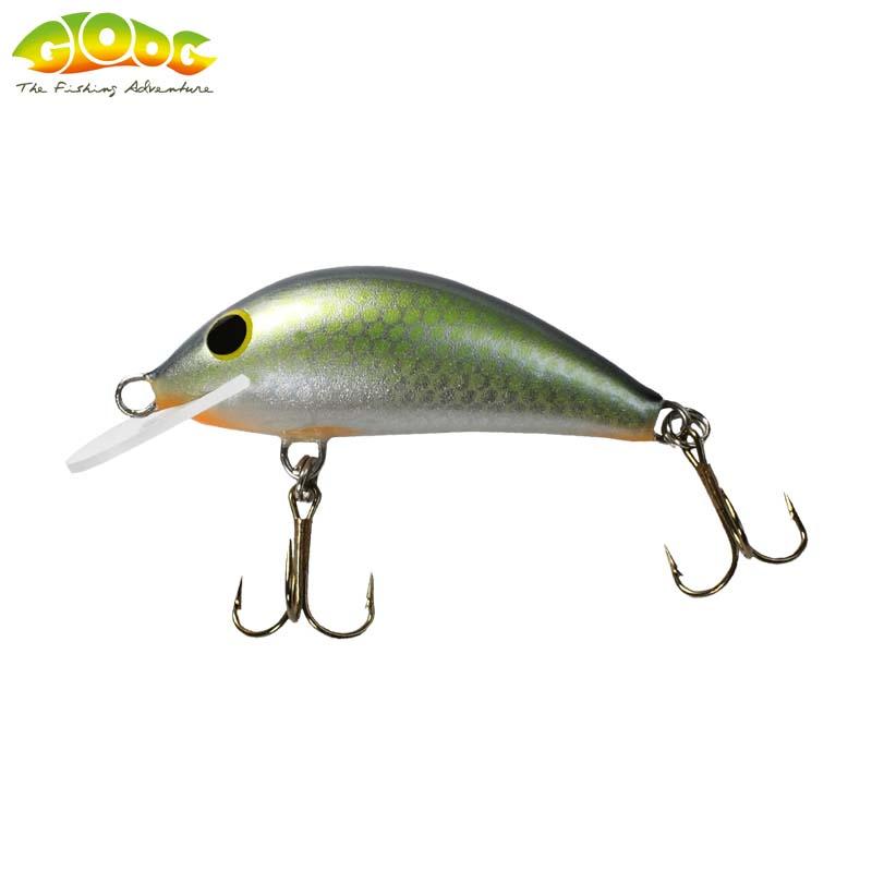 Gloog Hektor 40N - 4cm/3.5gr (Floating) - RGF (Roach Green Fluo)
