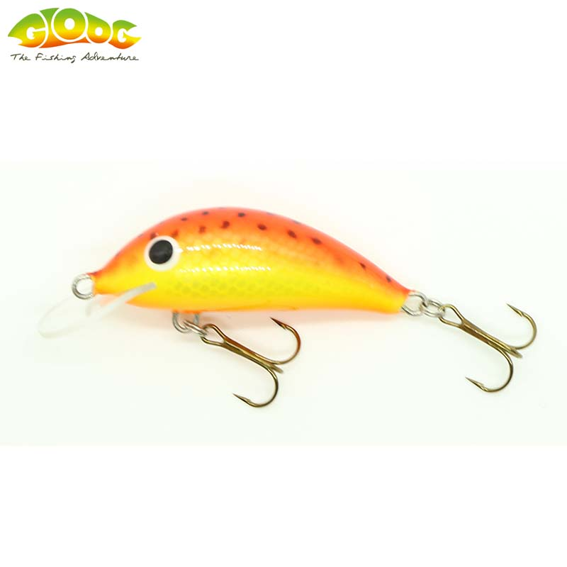 Gloog Hektor 40N - 4cm/3.5gr (Floating) - SOF (Sea Orange Fluo)