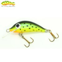 Gloog Hektor 40N - 4cm/3.5gr (Floating) - STG (Sea Trout Green)