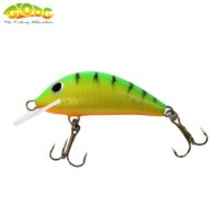 Gloog Hektor 40N - 4cm/3.5gr (Floating) - TGF (Tiger Green Fluo)