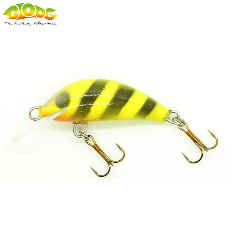 Gloog Hektor 40N - 4cm/3.5gr (Floating) - W (Wasp)