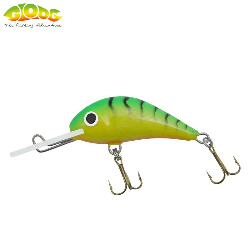 Gloog Parys 50N - 5cm/5gr (Floating) - TGF (Tiger Green Fluo)