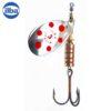 Ilba rotativa Tondo Silver/Red (argint cu puncte rosii) - nr.5/13gr (20115)