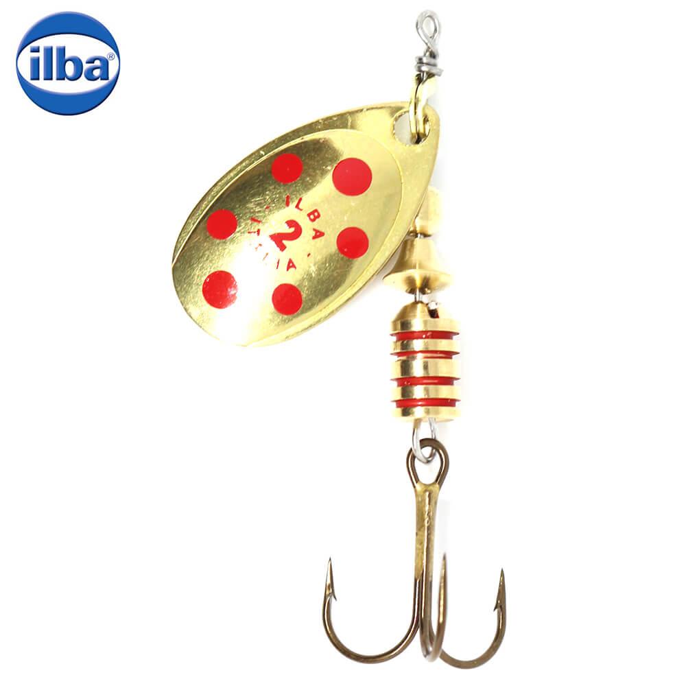 Ilba rotativa Tondo Gold/Red (aur cu puncte rosii) - nr.4/10gr (20214)