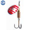 Ilba rotativa Tondo Silver/Red Zebra (argint cu dungi rosii) - nr.4/10gr (21114)