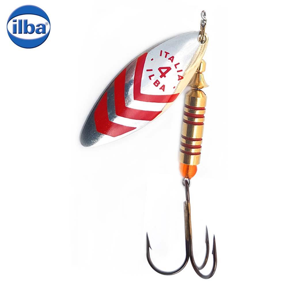 Ilba rotativa Lungo Silver/Red (argint cu dungi rosii) - nr.3/7gr (60113)