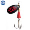 Ilba rotativa Spark Color Black/Red - nr.1/3gr (90NR1)