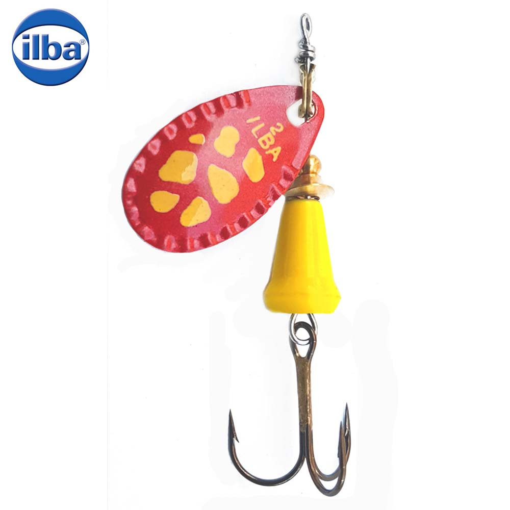 Ilba rotativa Spark Color Red/Yellow - nr.2/5.5gr (90RG2)