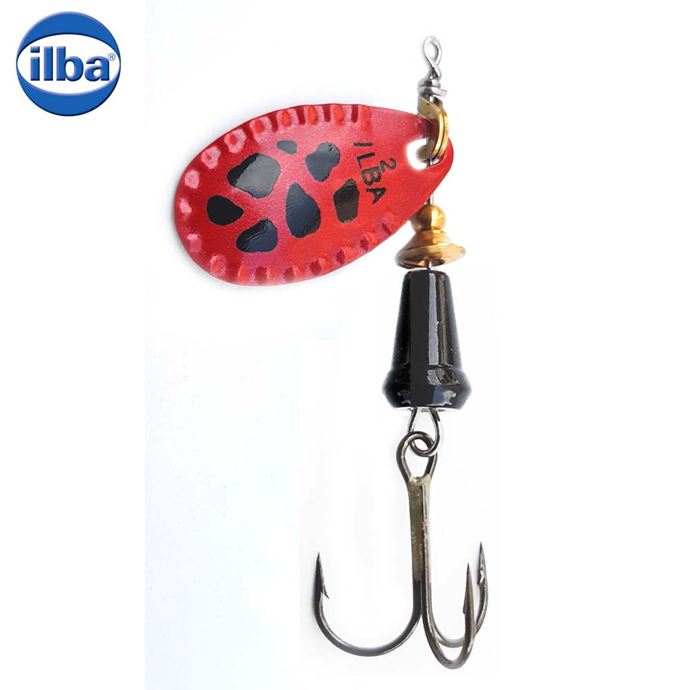 Ilba rotativa Spark Color Red/Black - nr.2/5.5gr (90RN2)