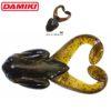 Damiki Air Frog 10.2CM (4'') - 606 (Green Pumpkin Black 2)