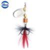 Ilba rotativa Tondo Mosca (Fly) - Silver - nr.0/2gr (100100N)