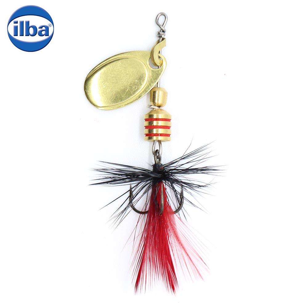 Ilba rotativa Tondo Mosca (Fly) - Gold + Fly Red/Black - nr.0/2gr (100200N)
