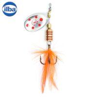 Ilba rotativa Tondo Mosca (Fly) - Silver/Red - nr.2/5gr (105112)