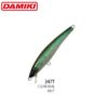 Damiki Pirami-70 - 7CM/4.5Gr (Slow Floating) - 347T (Clear Real Bait)
