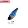 Damiki cicada VAULT-55 - 5.5cm/15gr - 234H (Spot Blue Holo)