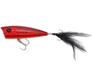 Damiki D-POP70 7CM/10Gr (Topwater) - 277P (Red Tiger)