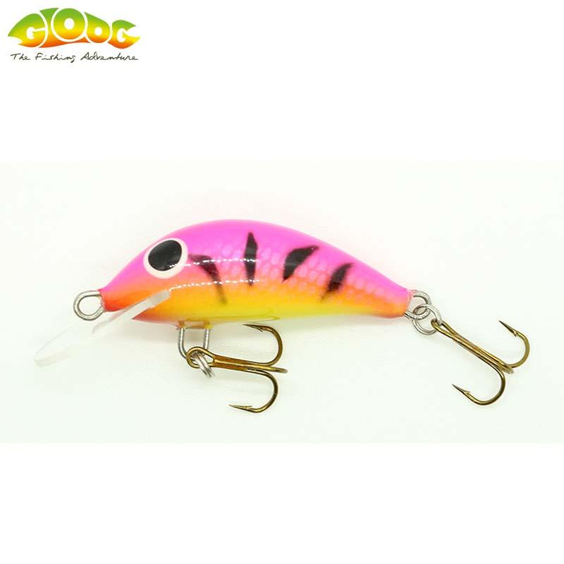Gloog Hektor 40N - 4cm/4.5gr (Sinking) - TP (Tiger Pink)