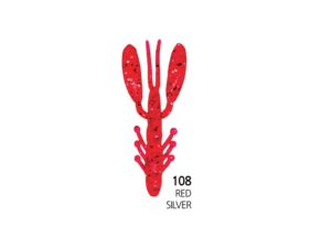 Damiki Air Craw 5.6CM (2'') - 108 (Red Silver)
