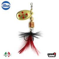 Ilba rotativa Tondo Mosca (Fly) - Gold/Red - nr.0/2gr (105210N)