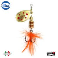 Ilba rotativa Tondo Mosca (Fly) - Gold/Red - nr.1/3gr (105211)