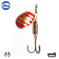 Ilba rotativa Tondo Gold/Red Zebra (aurie cu dungi rosii) - nr.3/7gr (21213)