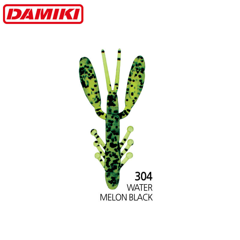 Damiki Air Craw 7.6CM (3'') - 304 (Watermelon Black)