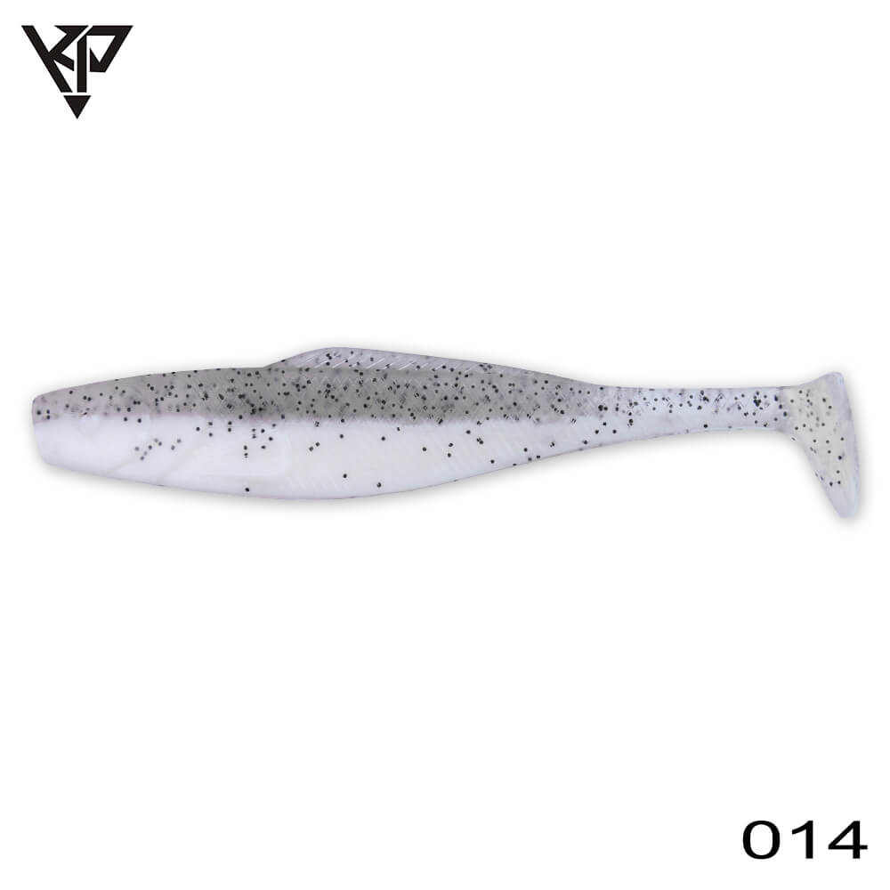 KP Baits Natural Shad 8.75CM (3.5'') - 034 (Smoke White)