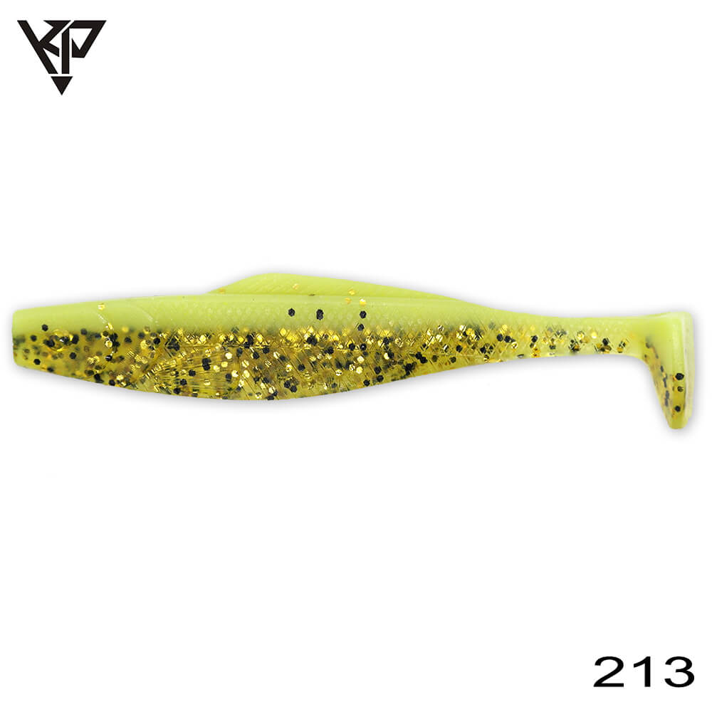 KP Baits Natural Shad 8.75CM (3.5'') - 213 (Space Gupy)