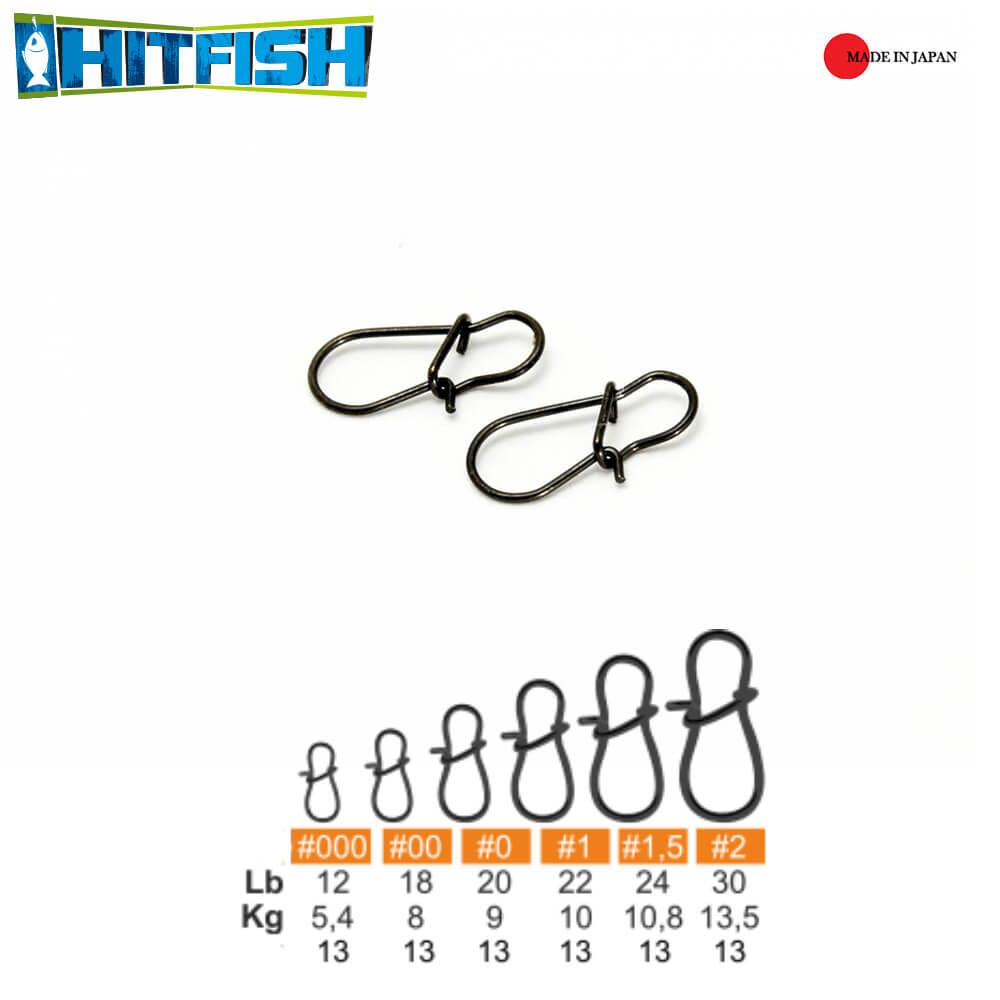 Hitfish Agrafa Round (RS-1.5) #1.5 / 10.8kg - 13buc/plic