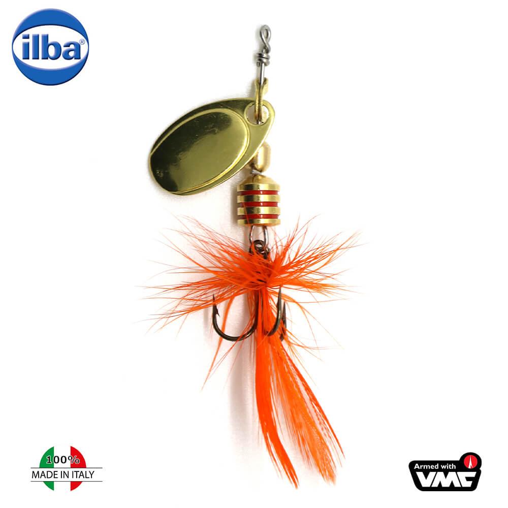 Ilba rotativa Tondo Mosca (Fly) - Gold + Fly Orange - nr.0/2gr (100200)