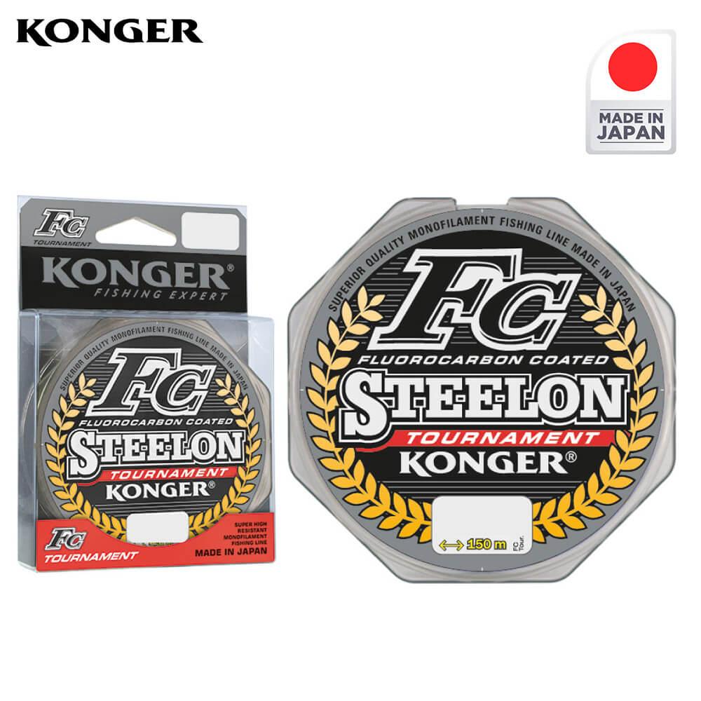 Konger Fir Monofilament Steelon FC TOURNAMENT 150m / 0.30mm - cod 24815030