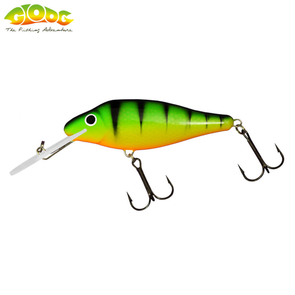Gloog Ares 70F - 7cm/10gr (Floating) - PGF (Perch Green Fluo)