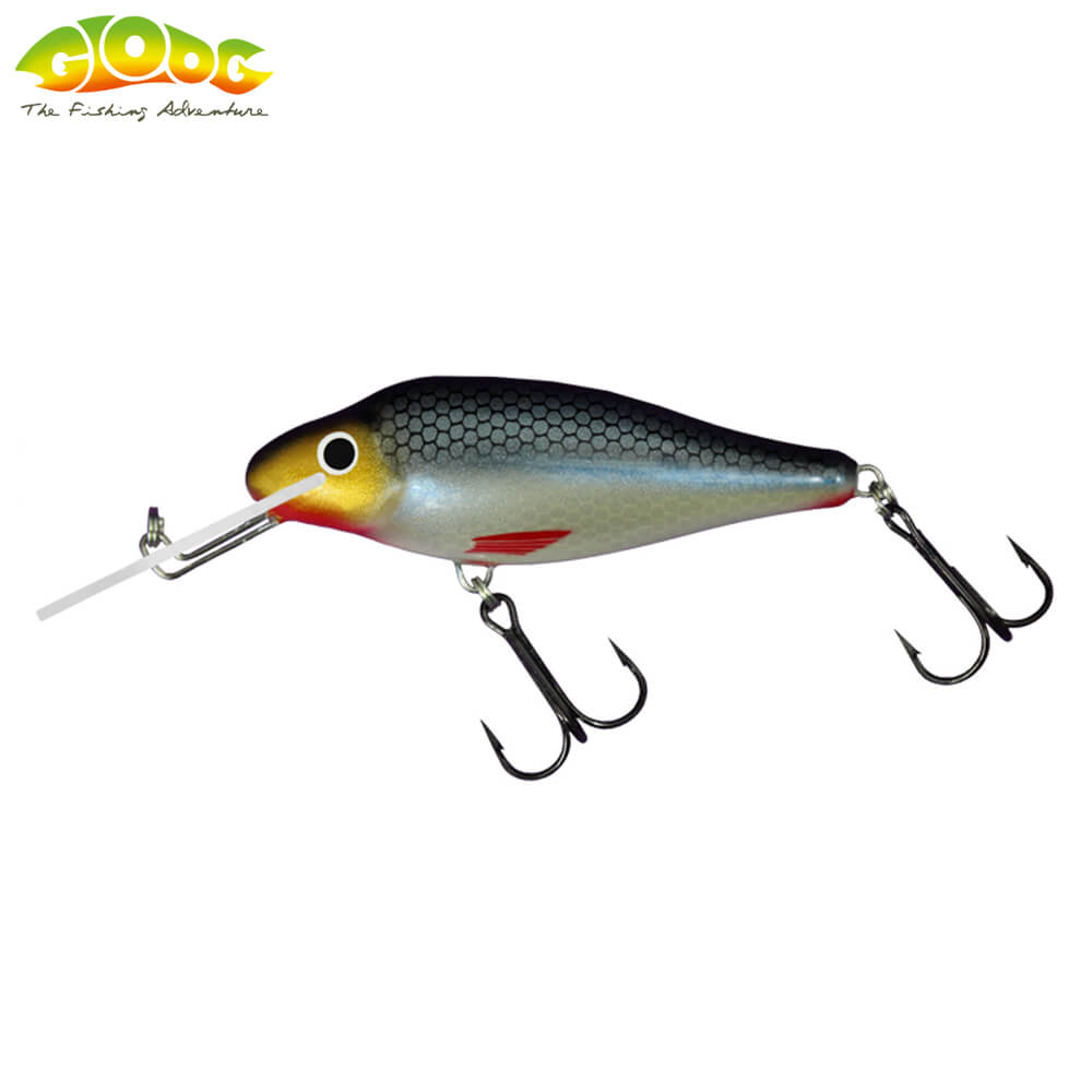 Gloog Ares 70F - 7cm/10gr (Floating) - RS (Roach Silver)