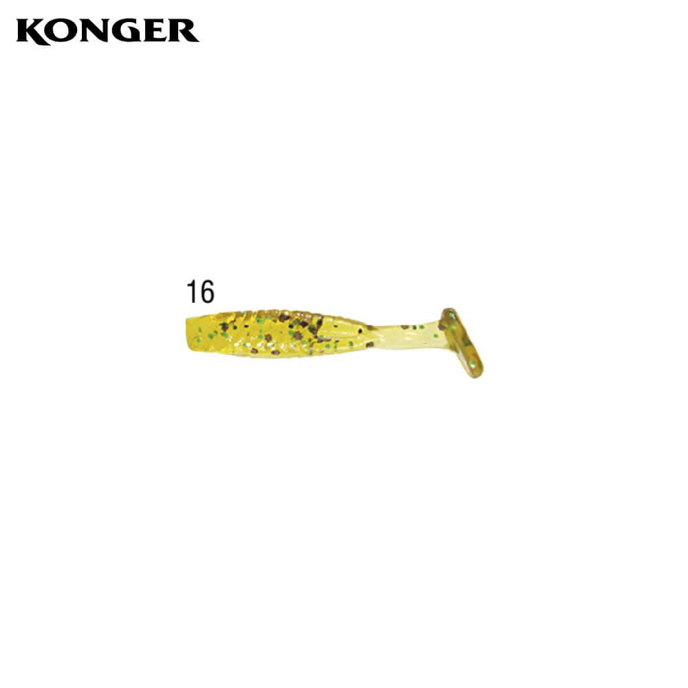 Konger Micro Fish 3cm, culoarea 16, 12buc/plic