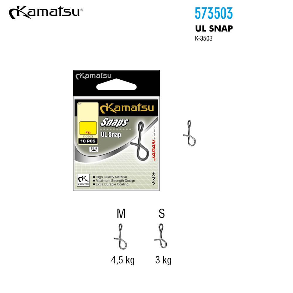 Kamatsu Agrafa rapida UL Snap K-3503 - #M / 5kg - cod 573503002