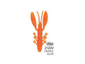 Damiki Air Craw 7.6CM (3'') - 212UV (UV Orange Silver)
